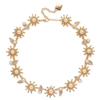 Anne Klein Into The Garden All Around Collar Necklace