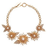 Anne Klein Into The Garden Drama Collar Necklace