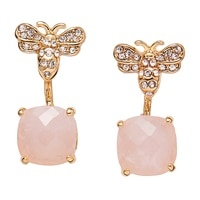 Anne Klein Fly Away with Me Critter Floater Earrings