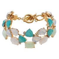 Anne Klein St. Barths Cluster Bracelet