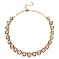 Napier Rose Petal Collar Necklace