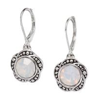 Napier Rose Petal Drop Earrings