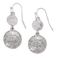 Nine West Radiant Metals Drop Earrings