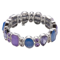 Nine West Lucky Lavender Stretch Bracelet