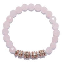 Hillberg & Berk Sterling Silver Mia Stretch Bracelet