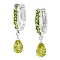 Sterling Silver Gemstone Earrings