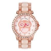Betsey Johnson Ladies' Rose Gold Tone Bracelet Watch