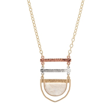 Barse Studio Sterling Silver Shire African Opal Pendant Necklace