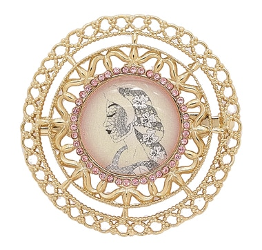 Amrita Sen Decorated Brooch