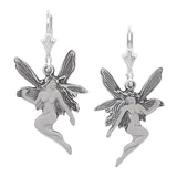 Timeless Classics Sterling Silver Frosted Fairy Look Earrings