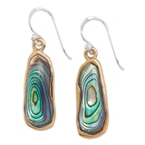 Barse Studio Seafolly Abalone Drop Earrings