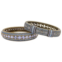 "Heidi Daus ""Everyday Elegance"" 2-Piece Bangle Set"