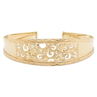 Sterling Silver Fancy Filigree Bangle