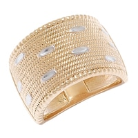 Jonc de style vannerie et taillé au diamant Jewellery of The Grand Bazaar