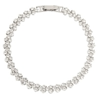 Bracelet sur argent sterling rhodié de la collection Toscana Diamonelle