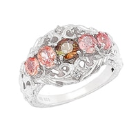 Generations 1912 Sterling Silver Multi Gemstone Ring