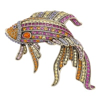 Heidi Daus Little Fish, Big Style Pin
