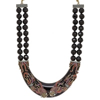 Collier plastron East Meets West de Heidi Daus