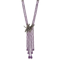 Heidi Daus Dragonfly Duet Necklace