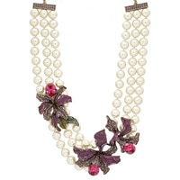 Heidi Daus Wild Orchid Necklace
