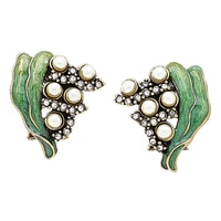 Boucles d'oreille Lily of the Valley de Heidi Daus