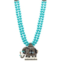 Heidi Daus Michelle's Majestic Mr. Elephante Necklace