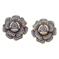 Heidi Daus Floral Focus Earrings
