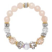Bracelet élastique en argent sterling Carina de Hillberg & Berk