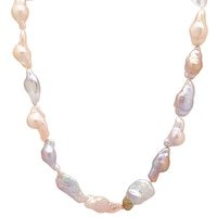 Pearl Lustre Sterling Silver Freshwater Pearl Necklace