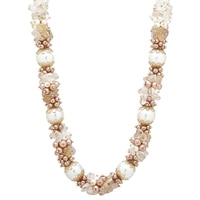 Ali-Khan Summer Bunches Semi-Precious Necklace