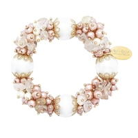 Ali-Khan Summer Bunches Semi-Precious Bracelet