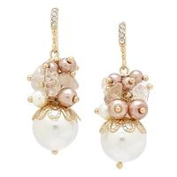 Ali-Khan Summer Bunches Semi-Precious Earrings
