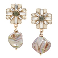 Ali-Khan Summer Romance Clip Earrings