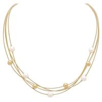 Collier à rangs multiples en argent sterling de la collection Jewels of Italy