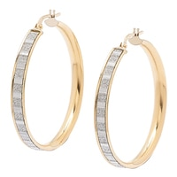 Uno A Erre 18K Yellow Gold Round Hoop Earrings