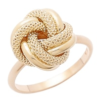 Uno A Erre 18K Yellow Gold Fiore D'Oro Ring