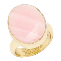 Alchemía by Charles Albert Pink Mother of Pearl Adjustable Ring