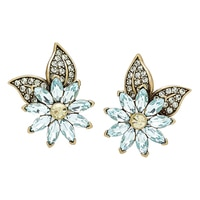Heidi Daus Forget Me Not Earrings