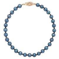 Bracelet orné de perles d'Akoya sur or jaune 14 ct