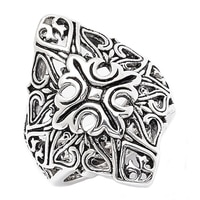 Barse Studio Sterling Silver Token Statement Ring