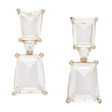 Roberto by RFM Clear Drop Earrings