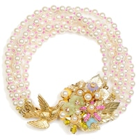 Miriam Haskell 6 Strand Pearl Bracelet