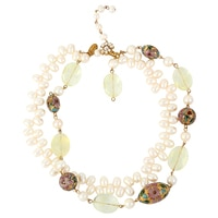 Miriam Haskell Bold Pearl Necklace
