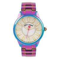 Betsey Johnson Ladies' Oil Slick Bracelet Watch
