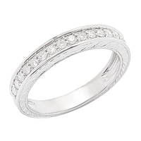 Clarity Diamonds Sterling Silver Diamond Fashion Ring