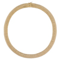 Stefano Oro 14K Yellow Gold Golden Silk Necklace