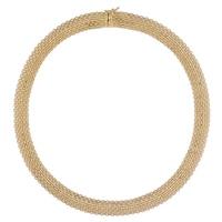 Stefano Oro 14K Yellow Gold Golden Silk Necklace