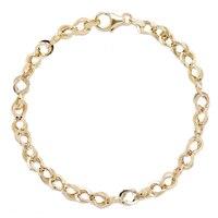 Bracelet en or jaune 14 ct Abbraccio de Stefano Oro