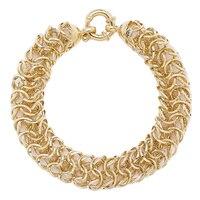 Stefano Oro 14K Yellow Gold Setoso Bracelet