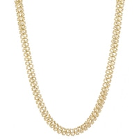 Stefano Oro 14K Yellow Gold Setoso Necklace